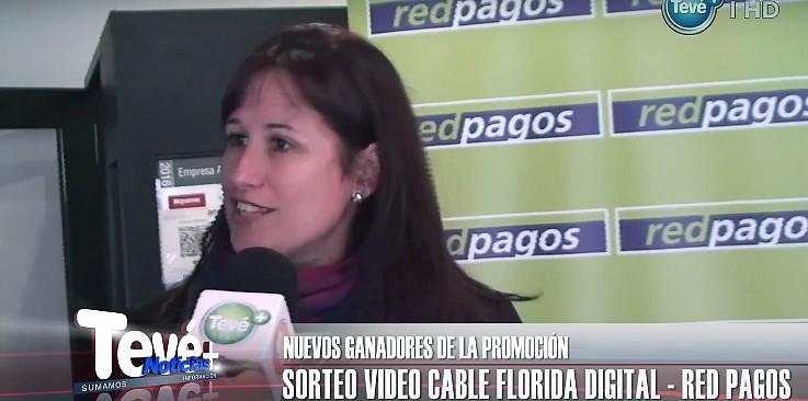 Video Cable Florida Digital y Red Pagos entregaron premios