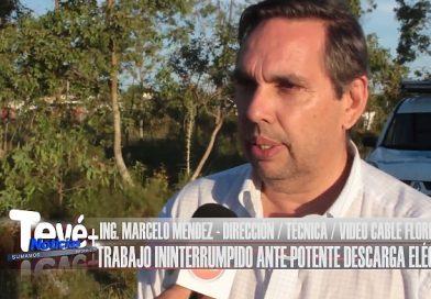 VIDEO CABLE FLORIDA DIGITAL ANTE POTENTES DESCARGAS