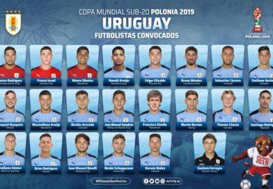 Mundial Sub 20 – Uruguay en Polonia 2019 va por el 10
