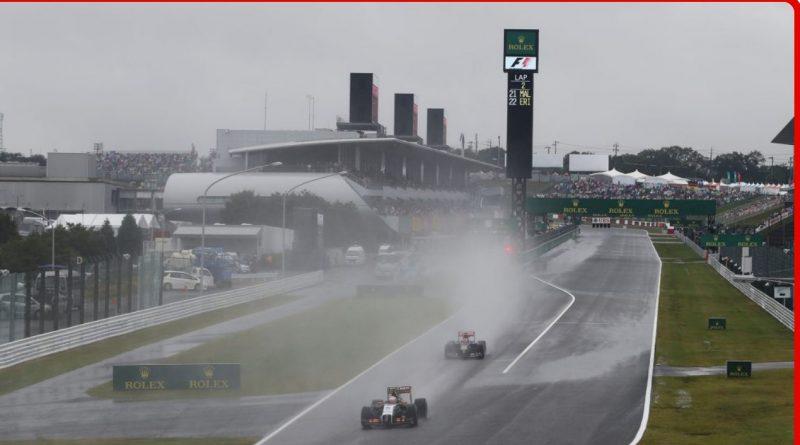Tifón y Fórmula 1: la clasificación sábado a las 22:00
