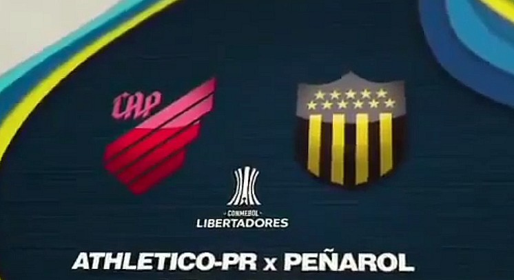 Libertadores: Peñarol – Paranaense por ESPN